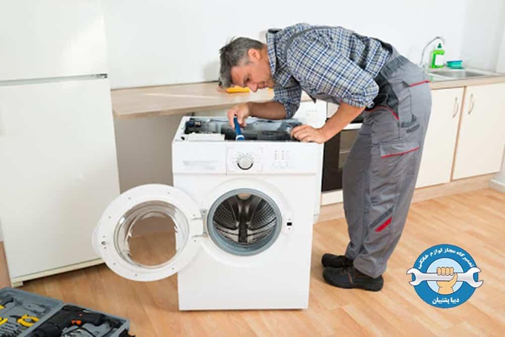 علت وارد نشدن آب به داخل لباسشویی دوو
