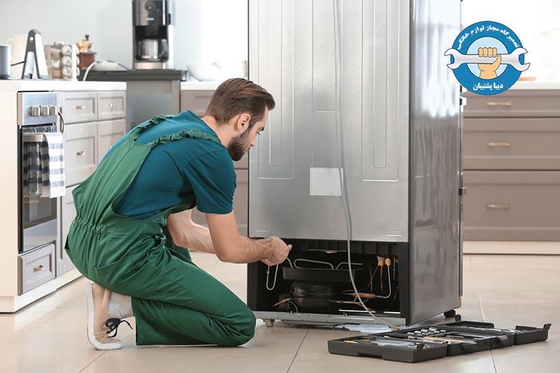 نیاز به تعمیرکار مجرب جهت بررسی سوختن فن یخچال دوو