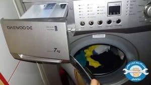 علت آبریزی یا نشت آب از ماشین لباسشویی دوو