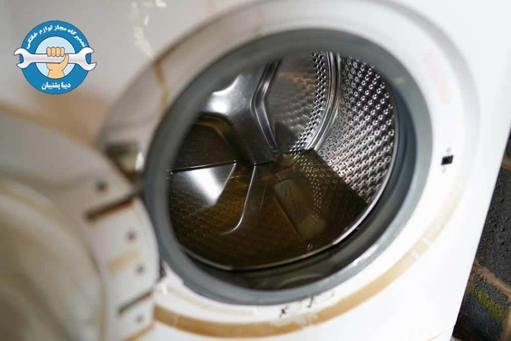 علت جمع شدن آب داخل دیگ ماشین لباسشویی دوو